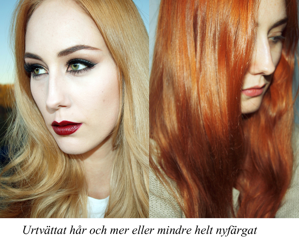 Tips till den som färgar håret rött - Idas Skönhetsblogg a083e1045d7f2