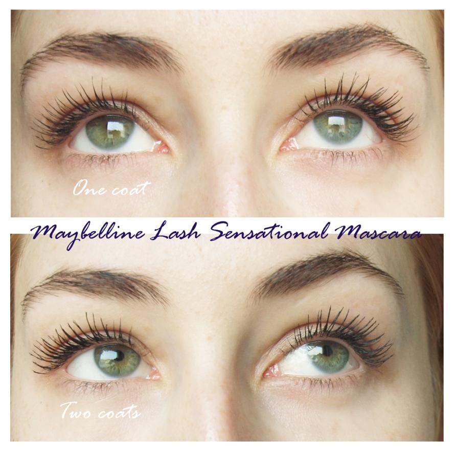 maybelline lash sensational mascara lashes