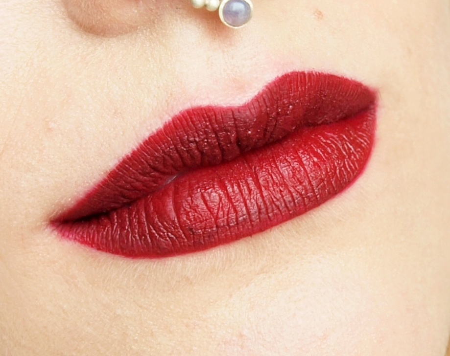 HM beauty velvet lip cream screen siren